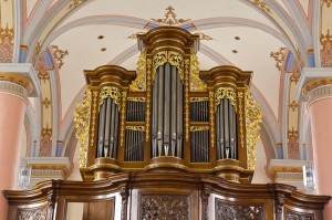 Die Orgel in der Klosterkirche von Beilstein: ein Werk des Orgelbauers Balthasar König