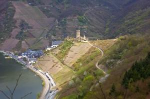 Blick auf Beilstein und Burg Metternich