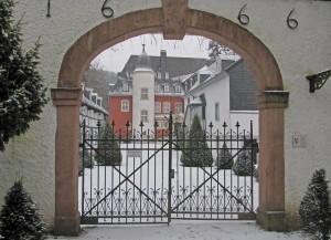 Burg Dalbenden, ein Bau von barocker Schönheit