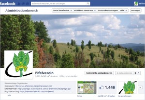Der Eifelverein in Facebook