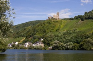 Das Ziel: Bernkastel-Kues mit Burg Landshut