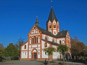 """Sinzig: die Katholische Pfarrkirche """"St. Peter"""""""