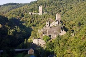 Die Manderscheider Burgen, Glanzpunkt auch dieser Tour