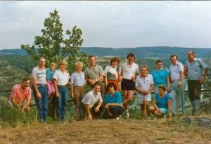 Teilnehmer  der ersten Wanderung
