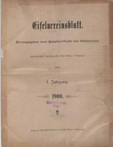 Eifelvereinsblatt