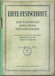 Eifel-Festschrift zur 25 jährigen Jubelfeier