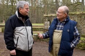 Horst Müller im Gespräch mit Hauptmedienwart Hans-Eberhard Peters