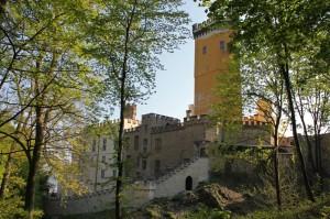 Burg Stolzenfels, Start des Mosel-Caminos