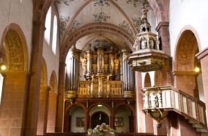 Die Orgel von Balthasar König aus dem Jahre 1727 im Kloster Steinfeld