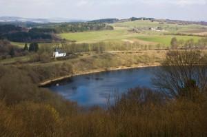 Blick auf das Weinfelder Maar