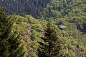 Die Schmitthütte, vom Grafschaft-Pfad aus gesehen