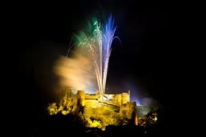 Die Burg von La Roche-en-Ardenne