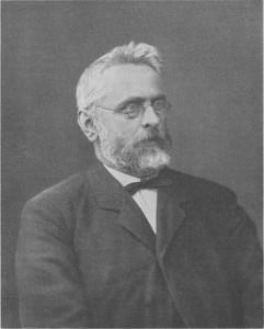Adolf Dronke als Direktor des Trierer Kaiser-Wilhelms-Gymnasiums (ca. 1890)
