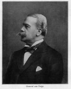 Generalmajor a. D. Karl von Voigt