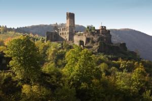 Burg Metternich oberhalb Beilsteins