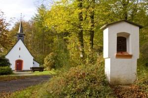 Die Kapelle von Eichenbach