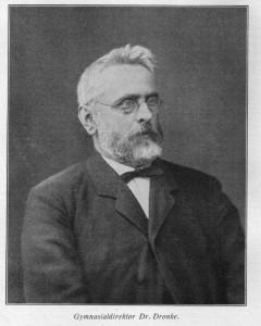 Adolf Dronke, um 1890, Porträtfoto. (Eifelverein - Hauptgeschäftsstelle und Eifelbibliothek)