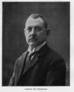 Karl Leopold Kaufmann, Porträtfoto. (Eifelverein - Hauptgeschäftsstelle und Eifelbibliothek)