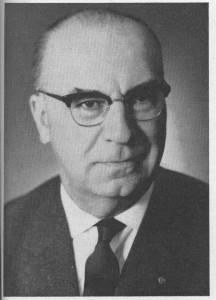 Josef Schramm , Porträtfoto. (Eifelverein - Hauptgeschäftsstelle und Eifelbibliothek)