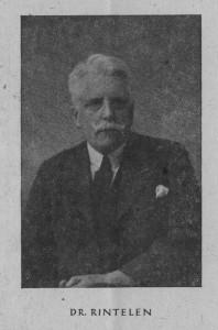 Ludwig Rintelen, Porträtfoto. (Eifelverein - Hauptgeschäftsstelle und Eifelbibliothek)