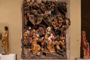 Anbetung der Hl. Drei Könige des Meisters Arnt von Kalkar und Zwolle (Niederrhein / 1480-1485)