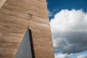 Wolkendramaturgie über der Bruder-Klaus-Kapelle