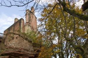 Die Ruine der Burg Ramstein