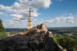 Das Gipfelkreuz auf dem Litermont