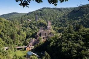 Manderscheid, die Burgen