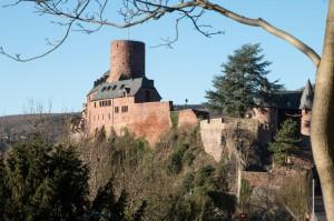Burg Hengebach in Heimbach
