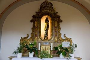 """Klosterkirche St. Joseph: Die """"Schwarzen Madonna"""""""