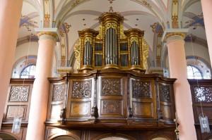 Klosterkirche St. Joseph: König-Orgel aus dem Jahre 1738