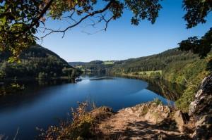 """Blick auf den Obersee. Ein perfekter Ort, um einen Tag """"blau zu machen"""""""
