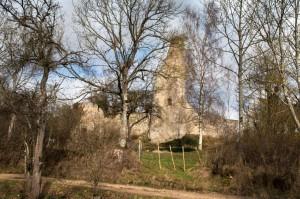 Ruine der Burg Dollendorf in Schloßthal