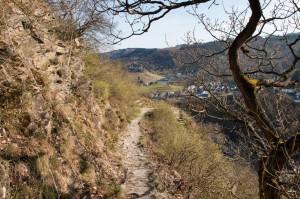 Abstieg vom Pinnerkreuz