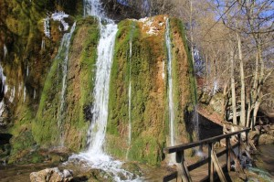 Der Wasserfall Dreimühlen