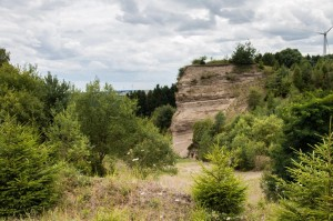 Blick in die Bimsgrube Hatzenfeld