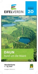 """Wanderkarte Nr. 20 des Eifelvereins """"DAUN – Rund um die Maare"""""""
