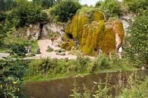 Der Wasserfall Dreimühlen  ...