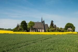 Start an  der Schwanenkirche, Roes