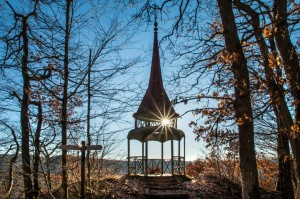 Stimmungsvoll: Der Hohenzollernturm in der Nachmittagssonne