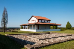 Die gallorömischen Tempelanlage Martberg