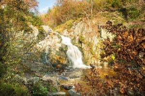 Der Wasserfall von Bayehon (Cascade du Bayhon)