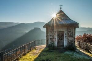 Blick auf die Michaelskapelle