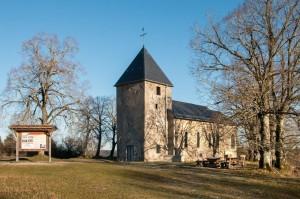 Ruine der ehemaligen Pfarrkirche St. Rochus, Wollseifen